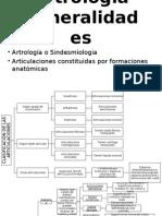 Artrología Generalidades