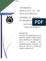 Ponencia Emmanuel Vázquez Nieto UMSNH MADEL
