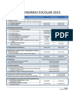 Calendario Uff Escolar 2015