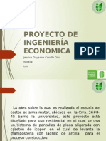 Proyeco Ing Econimica