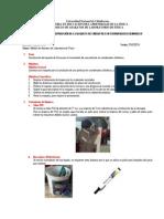 Informe de La Construcción de La Maqueta
