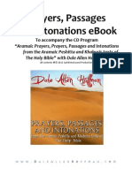 Aramaic Prayers, Passages, And Intonations