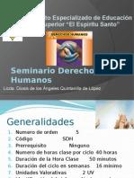 Seminario Derechos Humanos