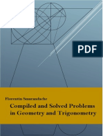 Compiled and Solved Problems in Geometry and Trigonometry