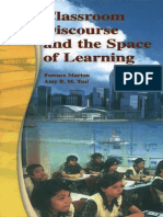 Classroom Discourse and the Space of Learning
