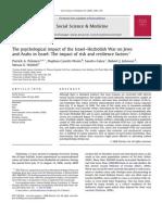 Social Science & Medicine Volume 67 Issue 8 2008 [Doi 10.1016%2Fj.socscimed.2008.06.030] Patrick a. Palmieri; Daphna Canetti-Nisim; Sandro Galea; Robert -- The Psychological Impact of the Israel–Hezbollah War on Jews And