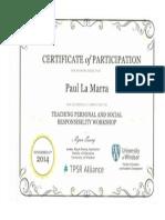 tpsr workshop portfolio