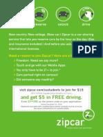 12.Zipcar