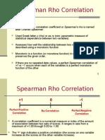 Spearman Rho Newcorrelation