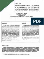 Dialnet-UnModeloEstructuralDelRendimientoAcademicoEnMatema-2358095