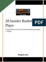 20 Hoops U Insider Basketball Plays