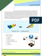 Online Payroll System, Online Payroll Application, Payroll Software