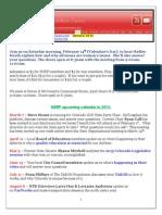 NSRF February 2015 Newsletter