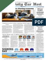 The Daily Tar Heel for Feb. 4, 2015
