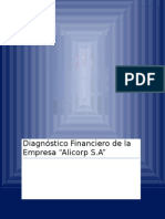 Diagnóstico Financiero de La Empresa ALICORP