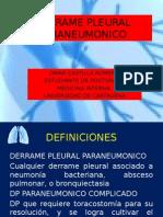 Derrame Pleural Paraneumonico