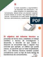 Presentación El Informe