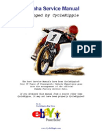 2006 FZ1S Factory Workshop Manual