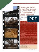 Planning Design & Construction of Grade Separator_Delhi