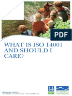 What is ISO 14001 DNV Booklet