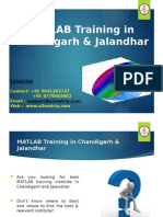 Matlab Training in Jalandhar