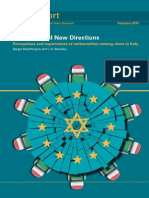 Perceptions and Experiences of Antisemitism Among Jews in Italy