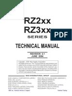 Service manual Riso RZ200
