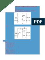 Contoh Soal Tegangan Thevenin Yang Dihitung Dengan Metode Loop