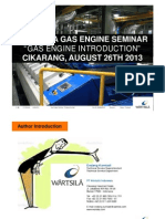 Gas Engine Seminar