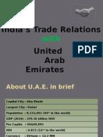 India UAE Trade Relations