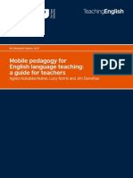 Mobile pedagogy for English language teaching