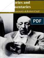 Stravinsky Recollections and Commentaries