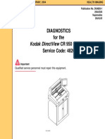 Diagnostics for Kodak DirectView CR 950 System 26AUG04