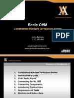 Module Basic Ovm Session1 Constrained Random Primer Jaynsley