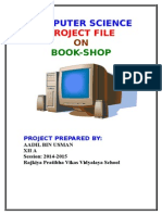 ter Science Project File on Book Shop 2010 Exam