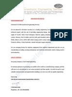 SBES Organization Profile