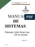 Manual de Sistemas Condumex