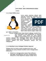 Pengenalan Linux & Instalasi Distro Fedora.doc