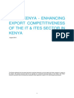 Netherlands Trust Fund III Kenya - IT&ITeS Project Plan