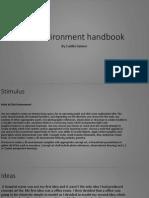 3d environment handbook