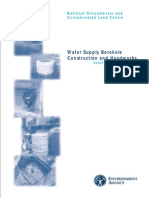 Water Supply Borehole Construction