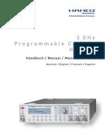 Hameg 12 GHz counter