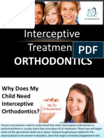 Interceptive Orthodontic Treatment