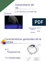 Caracteristicas generales de la Cornea.ppt