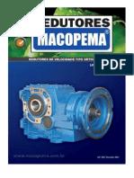 Redutores Ortogonais - MACOPEMA, Série OM