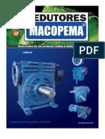 Redutores Por Rosca Sem Fim - MACOPEMA, Série R