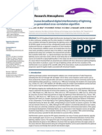 Continuous Broadband Digital Interferometry of Lightning