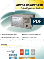 Optical Spectrum Analyzer AP204XB - APEX Technologies