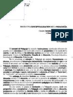 Conceptualización de La Pedagogia[1]. Revista de Educacion.4