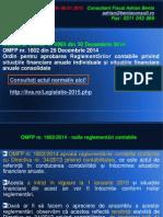 AL02 - OMFP 1802 Per 2014 - Noile Reglementari Contabile